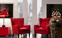 BENCH  Aleeya Grande Clubchairs – CAPO d'OPERA City Cabinet – PII Nancy Lamps