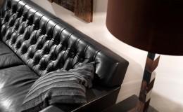 BENCH  Hammercap Sofa – PII Pirouette Lamp