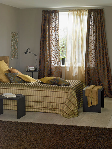 Gordijnen van den broek klassieke meubelenvan den broek meubelen - Tende per stanza da letto ...