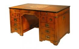 kersenhout bureau achterkant