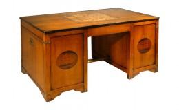 kersenhout bureau voorkant