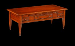 Kersenhouten salontafel L02