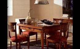 eetkamertafel stoelen kersenhout