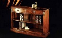 kersenhout roomdividers klassieke roomdivider klassiek kleine boekenkast