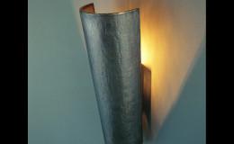 Quasar Wandlamp brons
