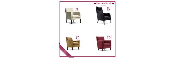 Welke fauteuils van Van den Broek Meubelen is jouw favoriet?